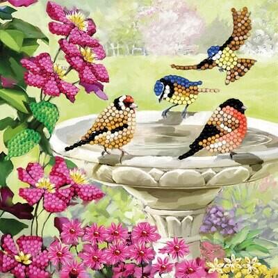 Crystal Art Card Kit Birds