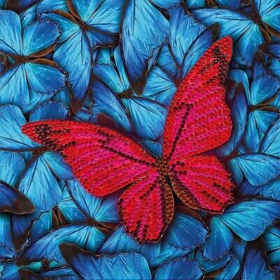 Crystal Art Card Kit Butterfly