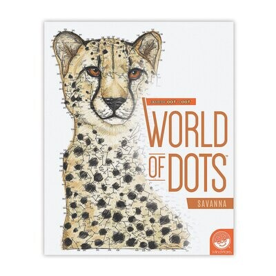 World of Dots Savanna Book