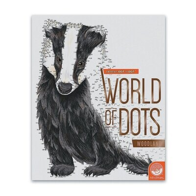 World Of Dots Woodland Book