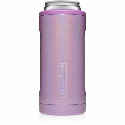 Hopsulator Slim Can Cooler Glitter Violet