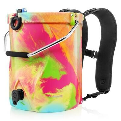 BackTap Cooler Rainbow Swirl