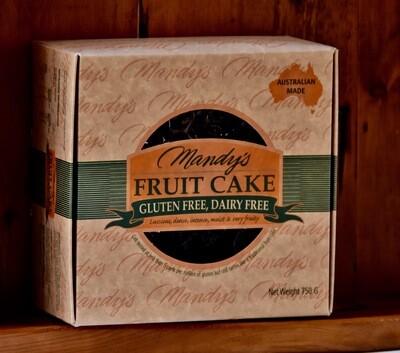 Gluten & Dairy-Free Fruit Cake 750g