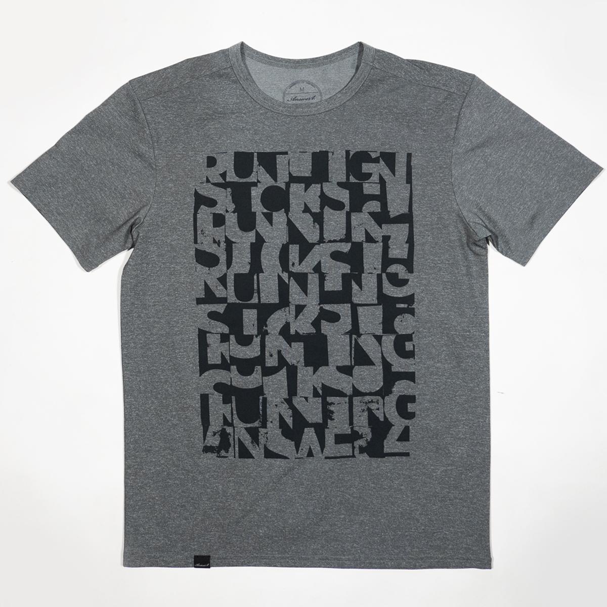 """Running Sucks 03""Tshirt T39"