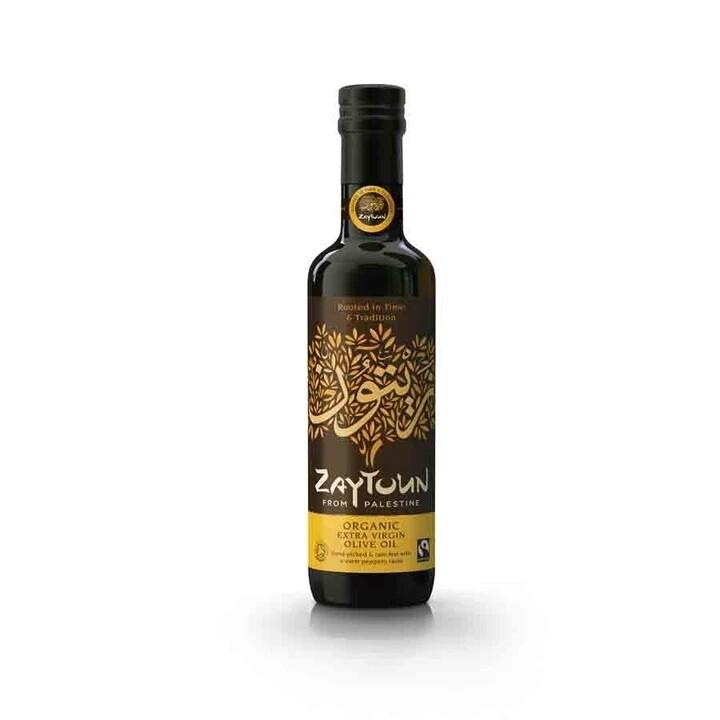 Zaytoun Organic Extra Virgin Olive Oil 500ml