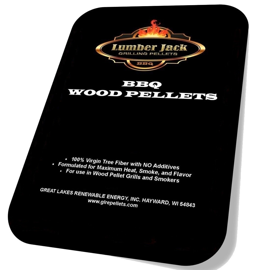 160 Pound BBQ Pellets Variety Pack featuring Lumber Jack (Select 8 20-Pound Varieties)