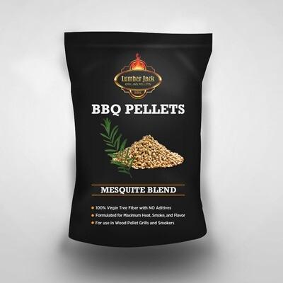 Mesquite Blend Lumber Jack BBQ Pellets (40% Mesquite/60% Red Oak)