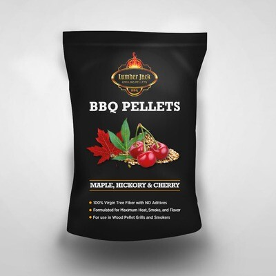 Maple-Hickory-Cherry (MHC) - Competition Blend Lumber Jack BBQ Pellets
