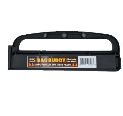 Bag Buddy - BBQ Pellet - Carry, Close, and Pour - Close Bags & Easily Carry