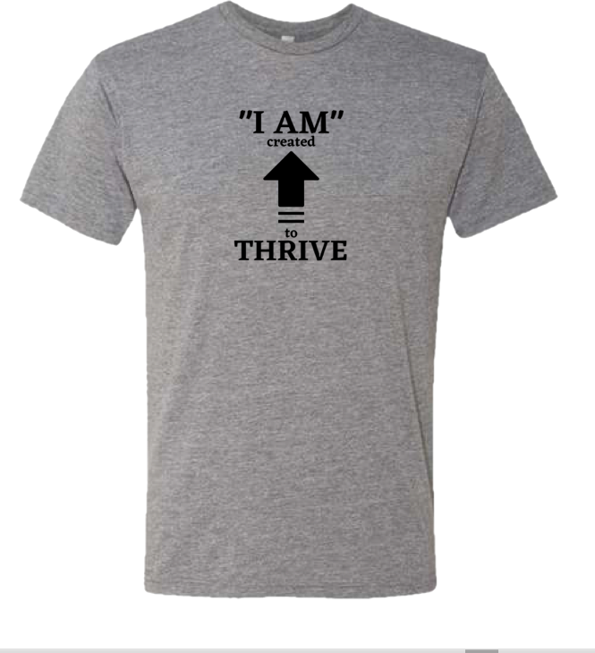 Gray Thrive T-shirt