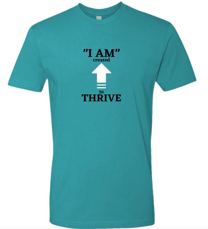 Teal Thrive T-shirt