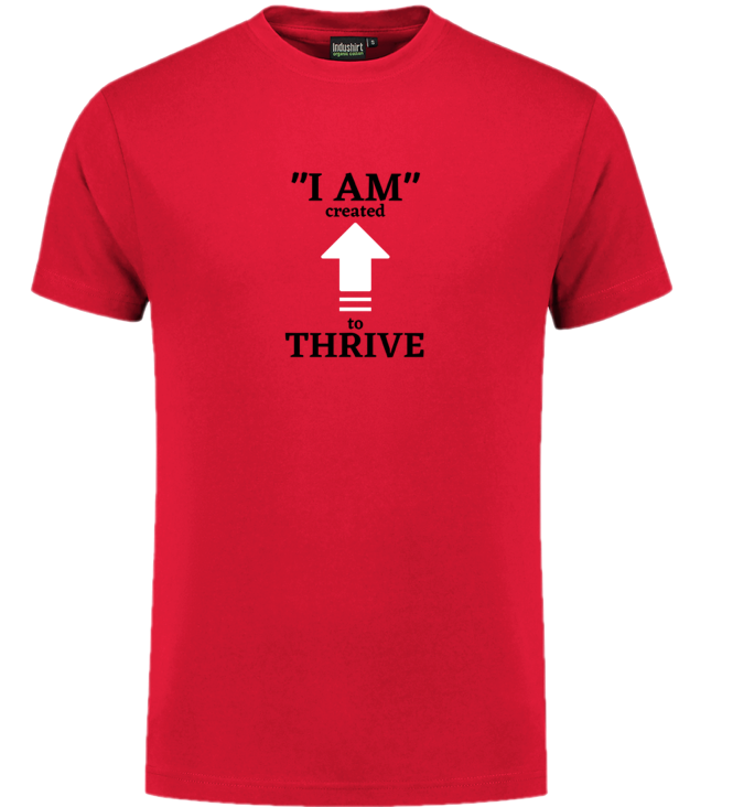 Red Thrive T-shirt