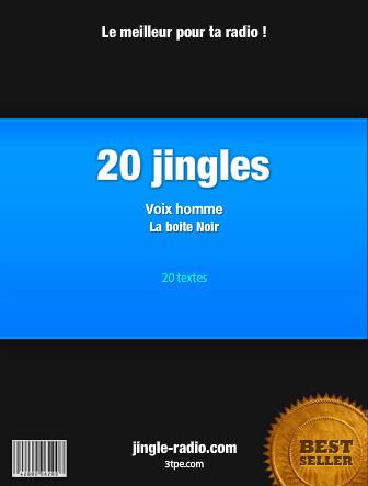 Pack de 20 jingles radio