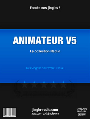 Jingle Radio Animateur V5