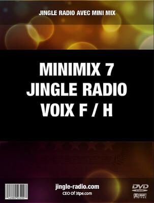 Jingle radio avec Mini Mix numéro 7