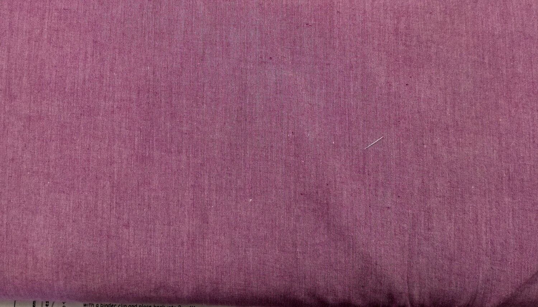 Tilda Chambray Plum Fabric