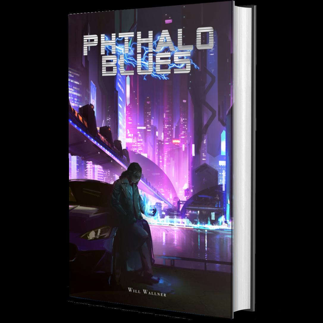 Phthalo Blues - Paperback