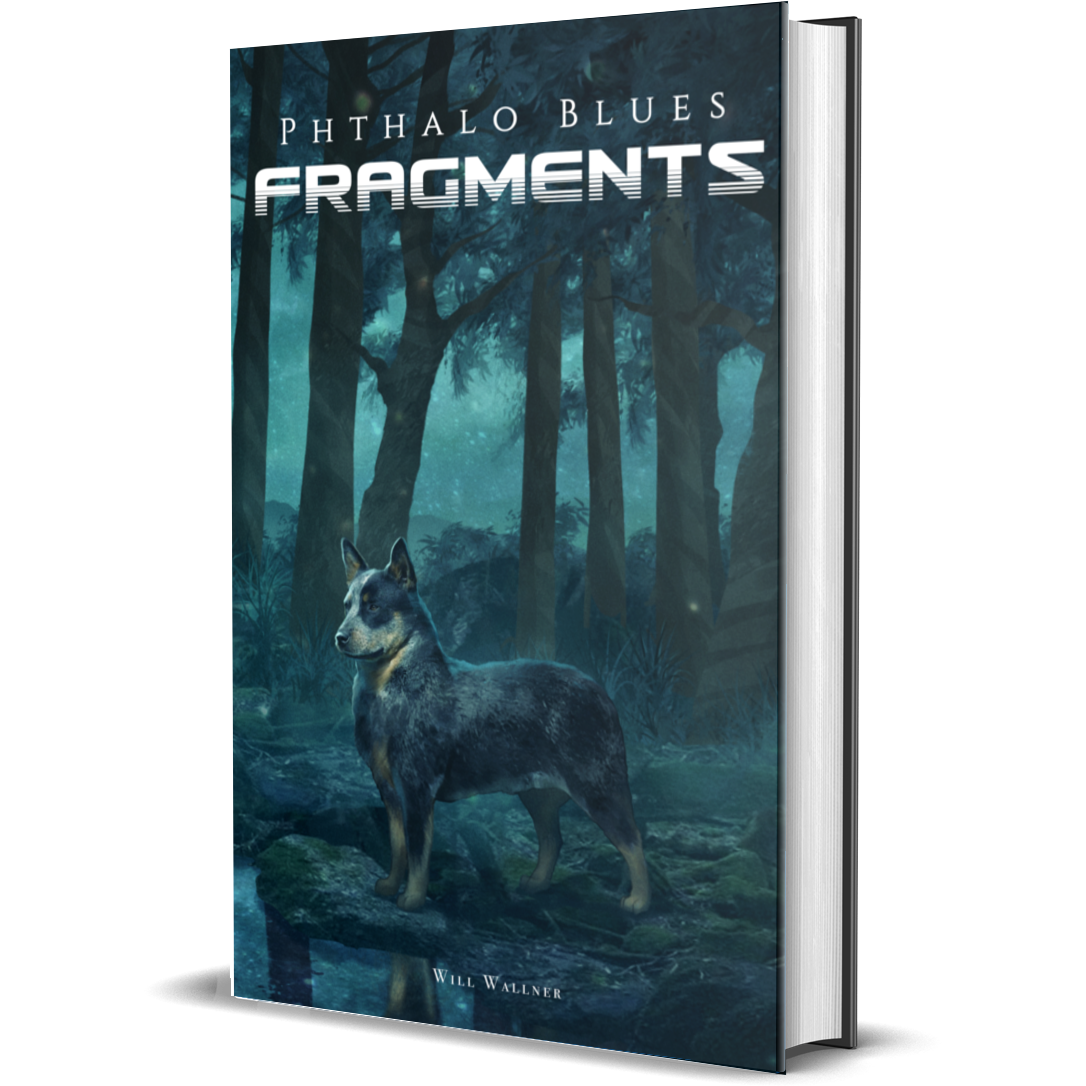 Phthalo Blues 3: Fragments - Paperback