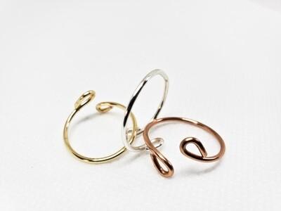 Band Adjustable Ring
