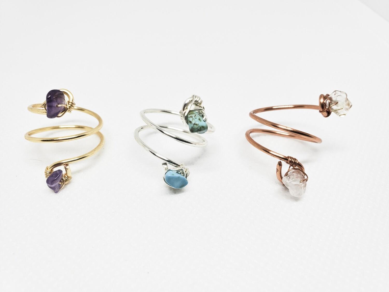 Cleodora Adjustable Ring