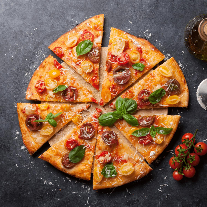 SAMPLE. Margarita pizza