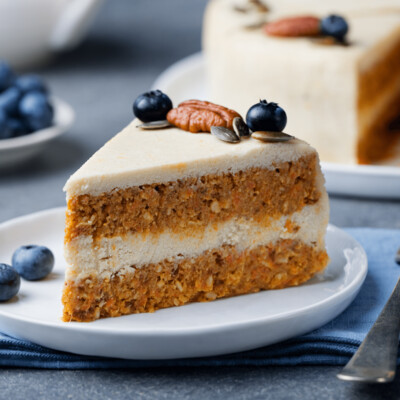 SAMPLE. Creamy layered fruit cake