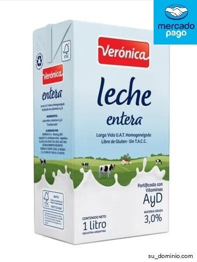 LECHE ENTERA LARGA VIDA X 1LT VERONICA