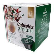 CAPSULA DE CAFE CAPPUCINO CABRALES (12 CAPSULAS X 6 GRS)