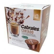 CAPSULA DE CAFE CORTADO CABRALES (12 CAPSULAS X 6 GRS)