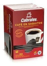 CAFE CABRALES ENSOBRADOS X 20U