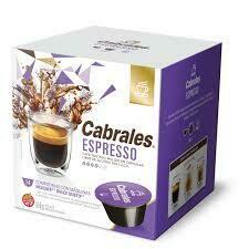 CAPSULA DE CAFE EXPRESS CABRALES (12 CAPSULAS X 6 GRS)