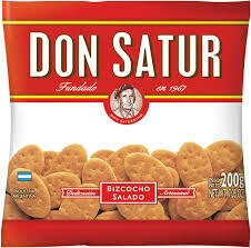 GALLETITAS DON SATUR SALADAS X 200GR