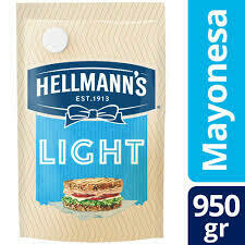 MAYONESA HELLMANNS LIGHT DOY PACK X 1KG