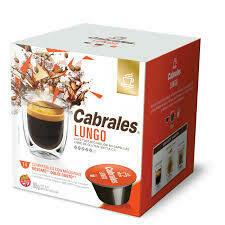 CAPSULA DE CAFE LUNGO CABRALES (12 CAPSULAS X 6 GRS)