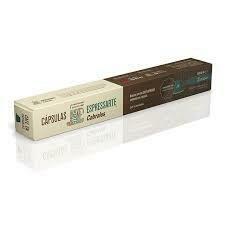 CAPSULAS DE CAFE CABRALES ESPRESSARTE DECISO X 10 UNIDADES.