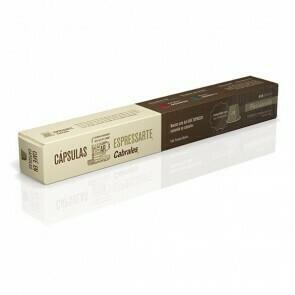 CAPSULAS DE CAFE CABRALES ESPRESSARTE PASSIONATO X 10 UNIDADES.