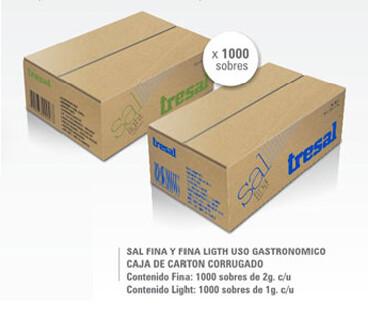 SAL FINA TRESAL DE 1000 SOBRES DE 2 GRS