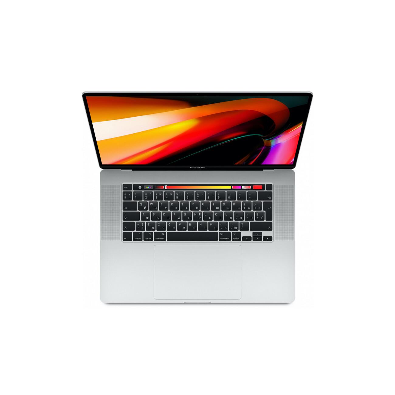"Apple MacBook Pro 16"" 6 Core i7 2,6 ГГц, 16 ГБ, 512 ГБ SSD, AMD Radeon Pro 5300M, Touch Bar, серебристый"