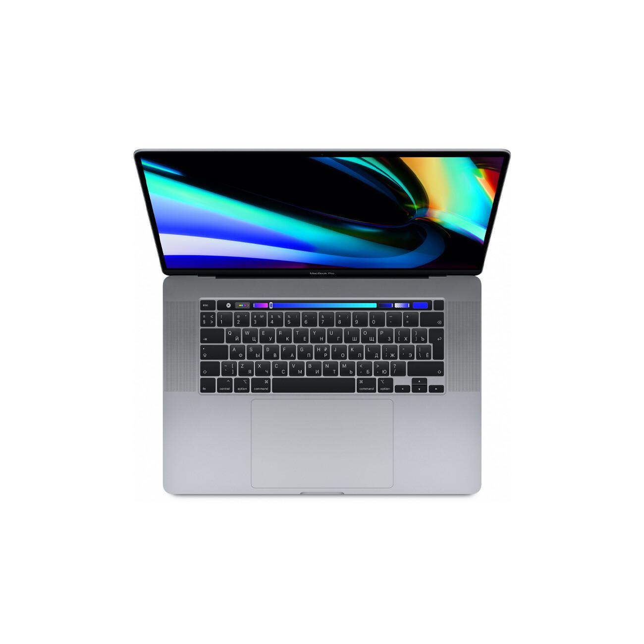 "Apple MacBook Pro 16"" 6 Core i7 2,6 ГГц, 16 ГБ, 512 ГБ SSD, AMD Radeon Pro 5300M, Touch Bar, «серый космос»"