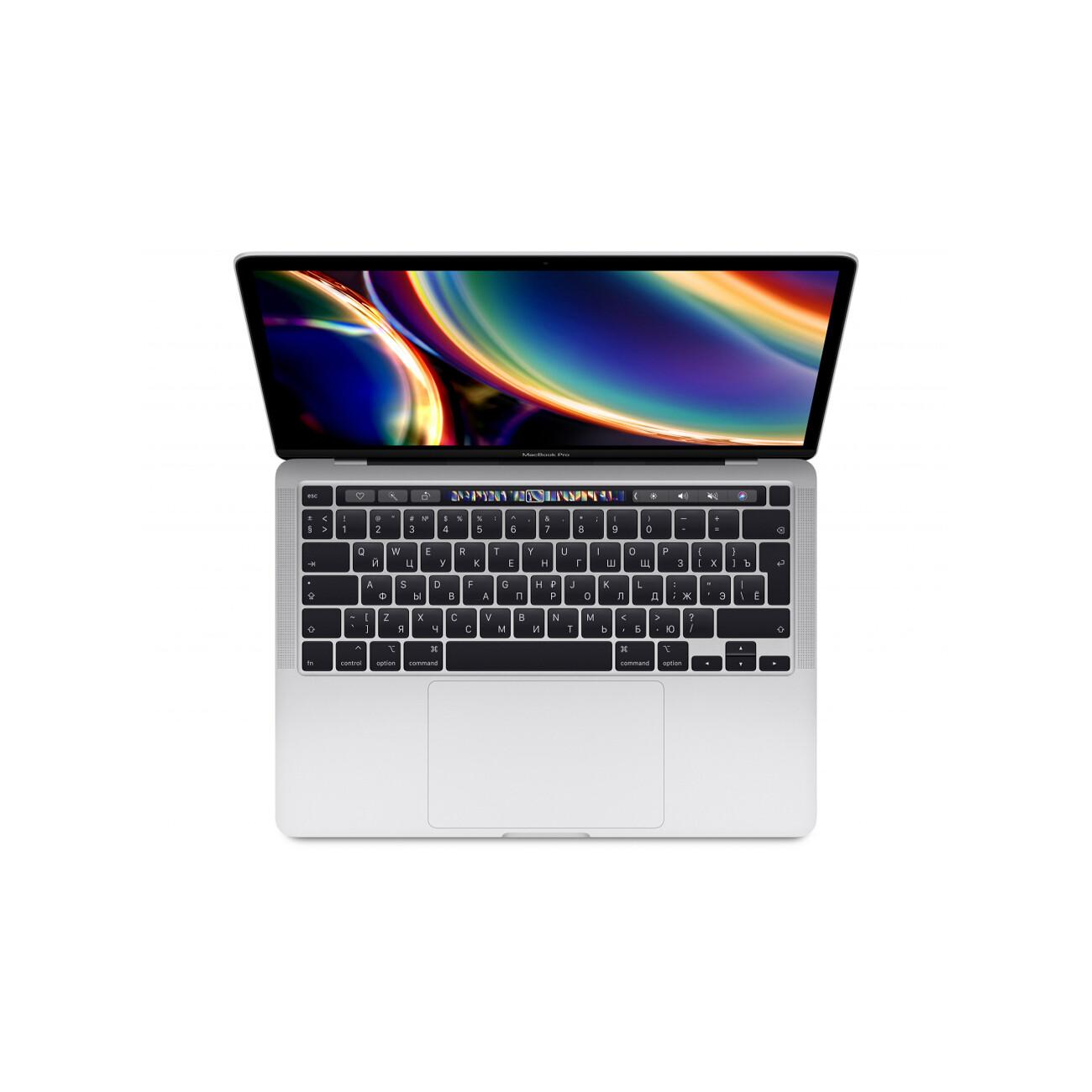 "Apple MacBook Pro 13"" QC i5 1,4 ГГц, 8 ГБ, 256 ГБ SSD, Iris Plus 645, Touch Bar, серебристый"