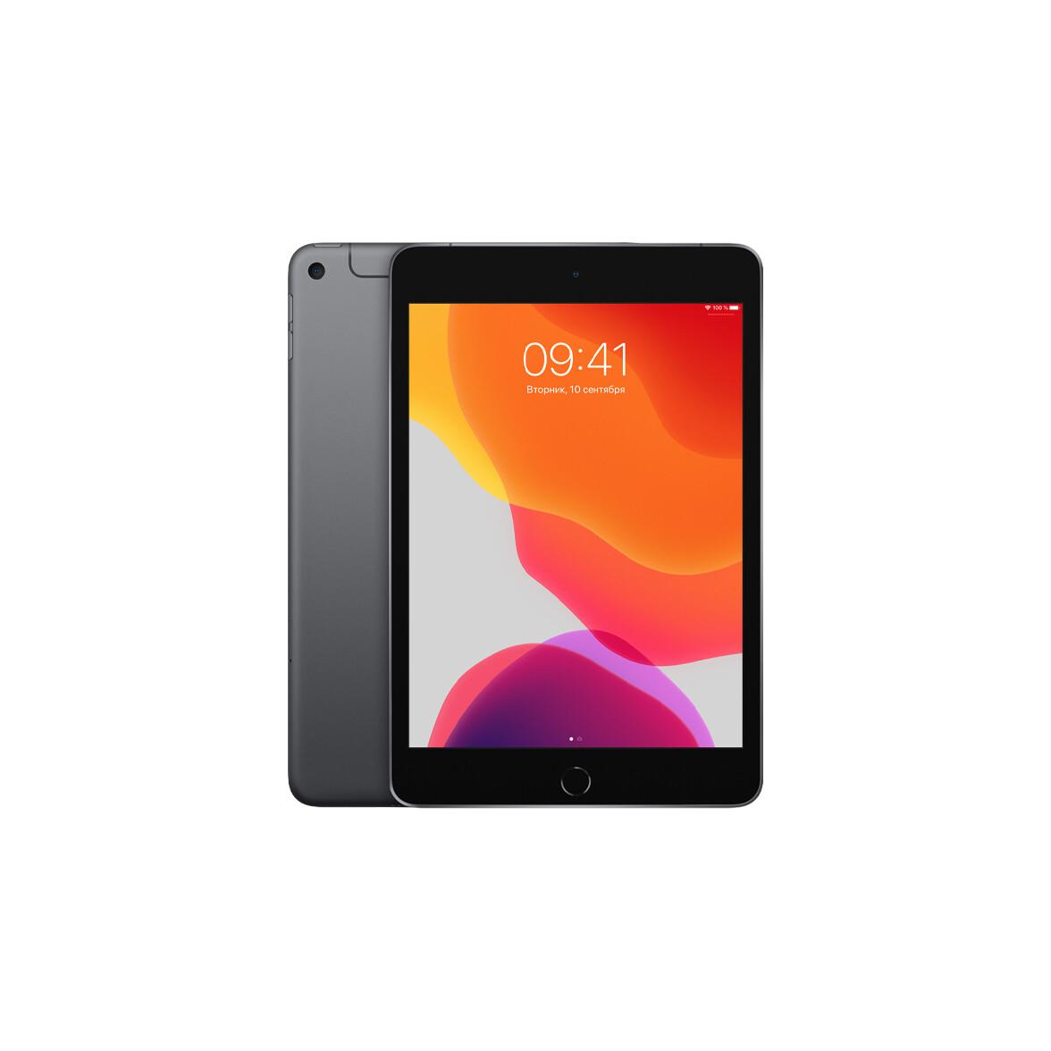 Apple iPad mini 2019 Wi-Fi + Cellular 64 ГБ, «серый космос»