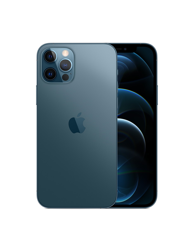 "Apple iPhone 12 Pro, 512 ГБ, ""тихоокеанский синий"""