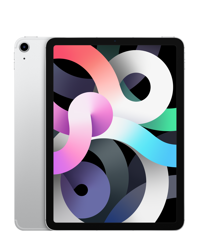 Apple iPad Air Wi-Fi + Cellular 256 ГБ, серебристый