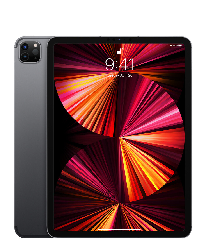 "Apple iPad Pro (2021) 11"" Wi-Fi + Cellular 2 ТБ, «серый космос»"