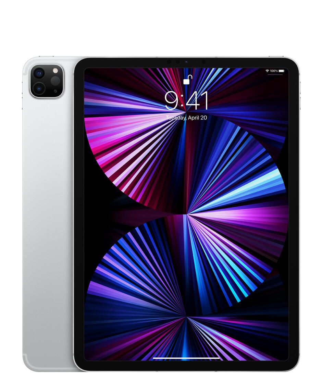 "Apple iPad Pro (2021) 11"" Wi-Fi + Cellular 512 ГБ, серебристый"