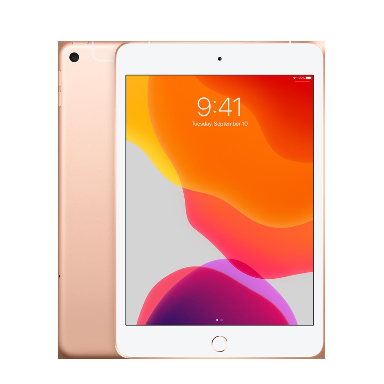 Apple iPad mini (2019) Wi-Fi + Cellular 64 ГБ, золотой