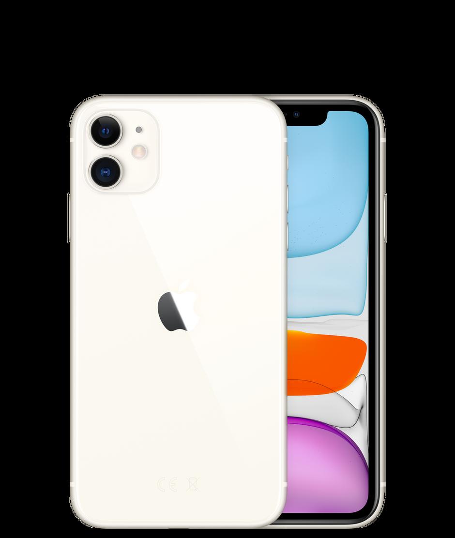 Apple iPhone 11, 64 ГБ, белый