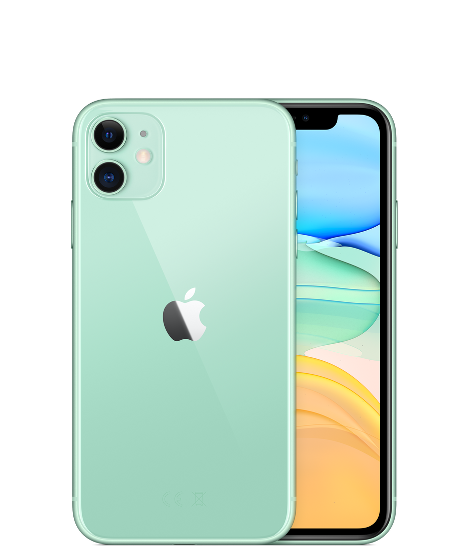 Apple iPhone 11, 256 ГБ, зеленый