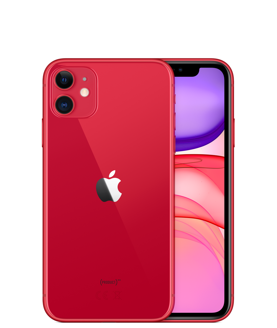 Apple iPhone 11, 256 ГБ, (PRODUCT)RED