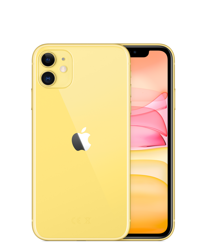 Apple iPhone 11, 64 ГБ, желтый